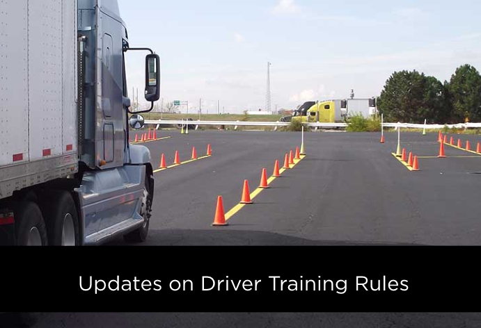 Truck Driver Training Rules