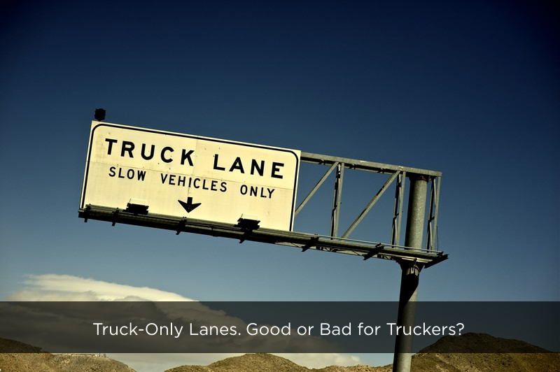 Truck Only Lanes