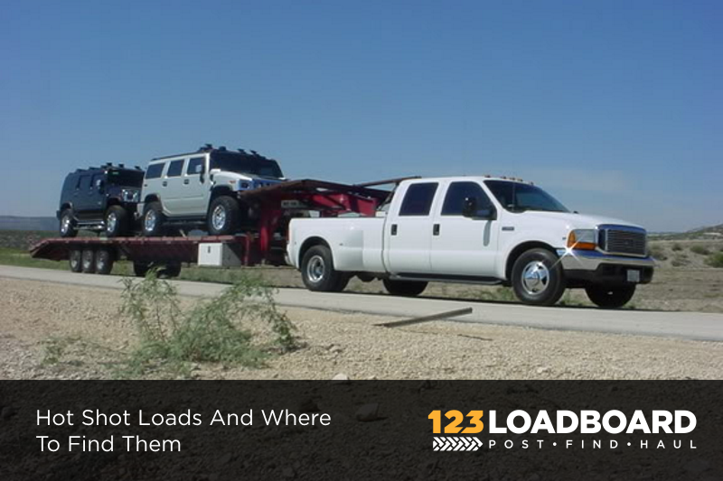Hot Shot Loads And Where To Find Them | 123Loadboard