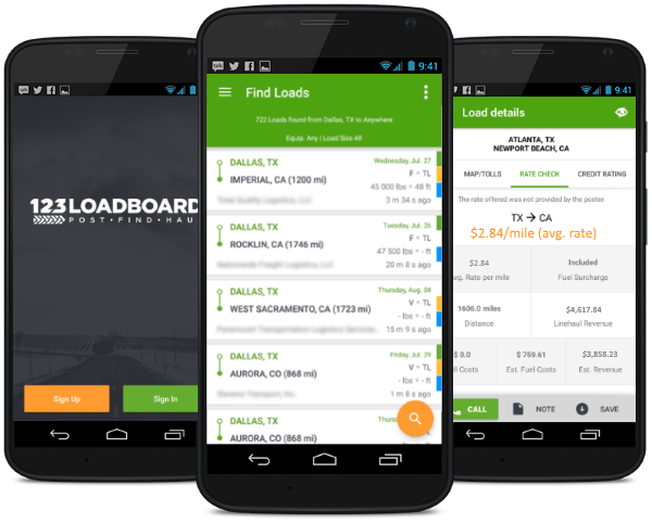 gps for truck drivers app